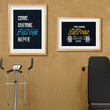 High Quality Workout Posters Gym-Buy Cheap Workout Posters Gym lots
