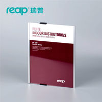 Reap 3207 Ruite A4 Aluminium Office Badge Indoor Wall Mount Sticker Sign Holder Display INFO Poster