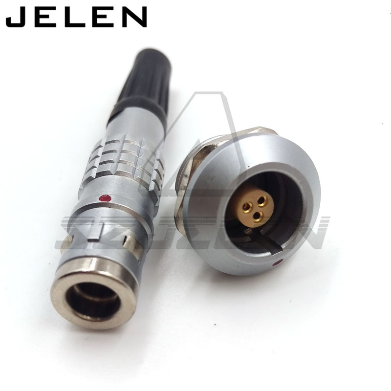 lemo 3 pin waterproof connector FGG.0K.303.CLAC,EGG.0K.303.CLL, IP68,Medical connectors, military accessories, Power plug socket lemo connector 2p series 2 pin ckb cab m02 cla led display dedicated plug and socket connectors medical plug power connector
