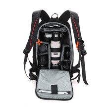Waterproof Functional DSLR Backpack Camera Video Bag Padded Camera Backpack for Canon Nikon Photo Camera Bag High Quality