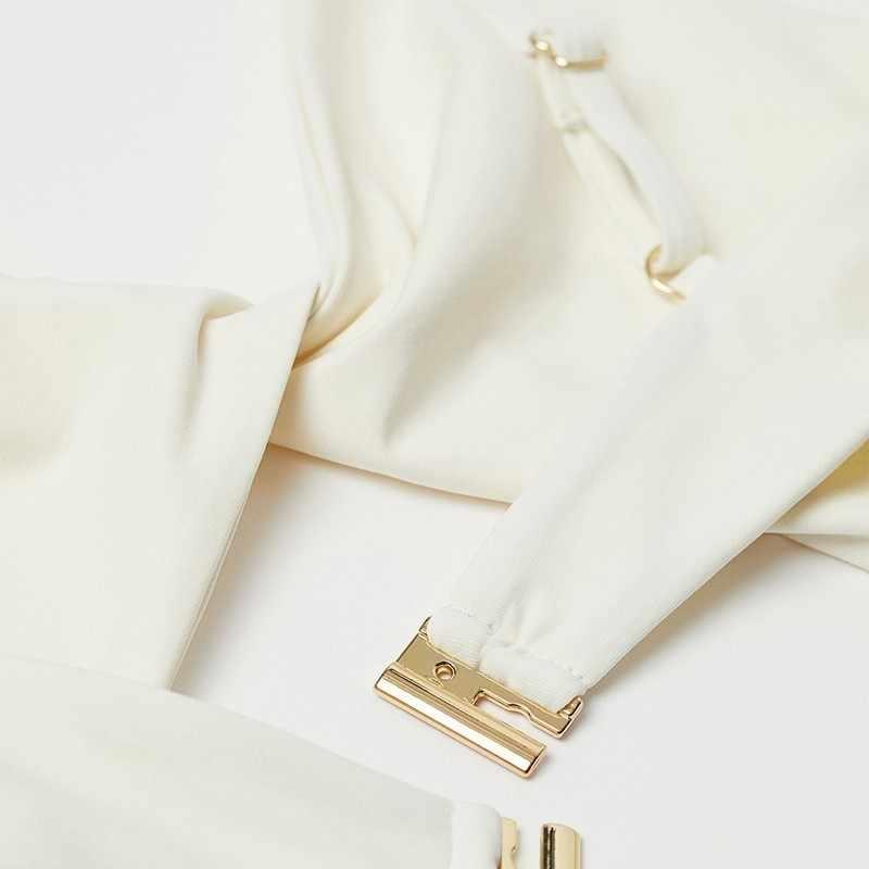 HYH Haoyihui 2019 новые модные поступления с вырезом Bodycon сплайсинга спинки без бретелек простота Повседневная посадка горячая Распродажа Комплект бюстгальтеров
