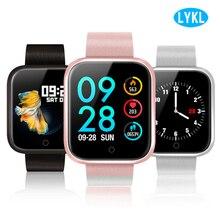LYKL оригинальный P70 Смарт часы браслет крови Давление монитор сердечного ритма шагомер Фитнес трекер Smartwatch для IOS и Android