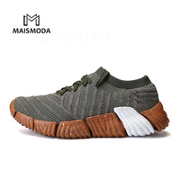 MAISMODA 2018 Shoes Men Breathable Trend Running Shoes Mens Sneakers Bounce Air Mesh Shoes Outdoor Sport Runing Shoes YL394