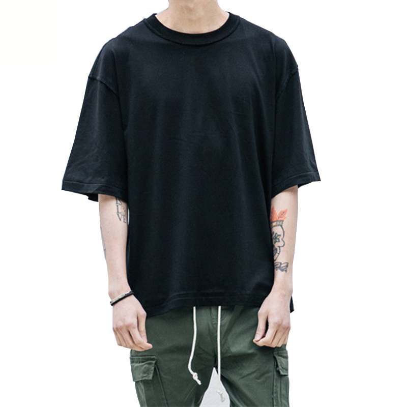 New Fashion Man streetwear <font><b>T</b></font> <font><b>shirts</b></font> Clothing <font><b>white</b></font>/grey/black oversized Mens <font><b>shirts</b></font> <font><b>blank</b></font> Hip Hop <font><b>T</b></font> <font><b>shirt</b></font> image