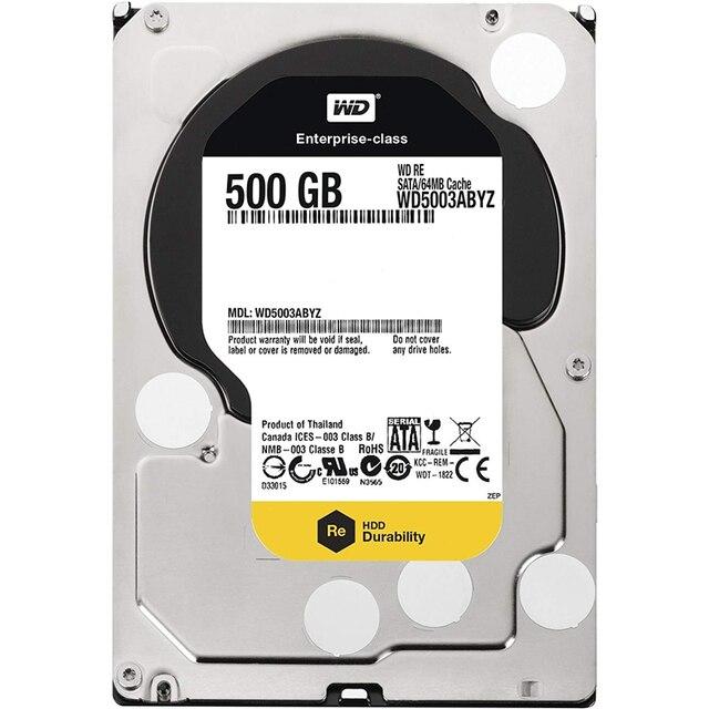 WESTERN DIGITAL WD5003ABYZ WD RE4 500GB 7200 RPM 64MB cache SATA 6.0Gb/s 3.5 internal hard drive ORIGINAL