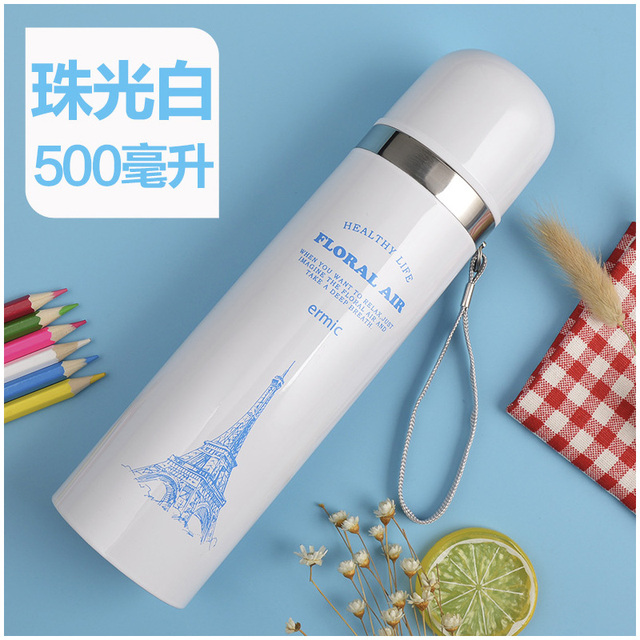 1pc Thermos CupThermo Mug Vacuum Stainless Steel Bottle Thermal Thermos Bottle Insulated Tumbler Travel Thermocup Coffee Mugs 5
