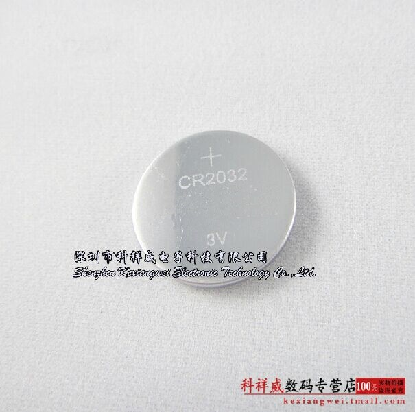 [handsome] button battery CR2032 3V 2032 battery computer motherboard / electronic weighing battery Rechargeable Li-ion Cell