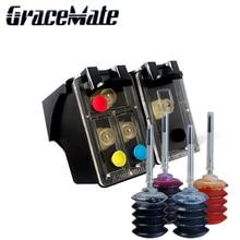 For HP 123 Refillable Ink Cartridges Deskjet 2130 1112 3630 3632 3635 Officejet 3830 4650 4655 ENVY 4516 4520