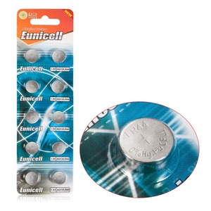 Image 2 - Venda quente 10 peças ag13 ag 13 357a pila lr44 sr44 lr44 bateria de pilha de moeda de botão de lítio 1.5 v ag 13 alcalina ee6214 lr1154