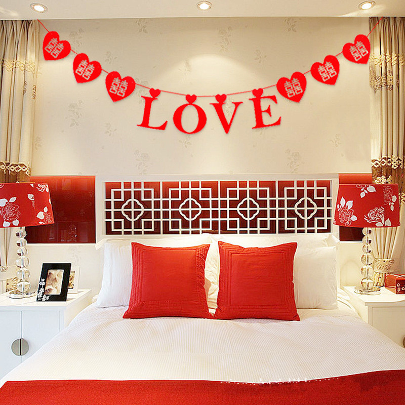 Wedding room decoration wedding decorations bedroom welcome to diverse red hanging cloth flowers happy birthday decorations wedding room decoration wreaths in banners streamers confetti junglespirit Image collections