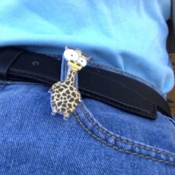 Sale Backpack Cute Brooch 1PC Women Men Animal Allergy 1