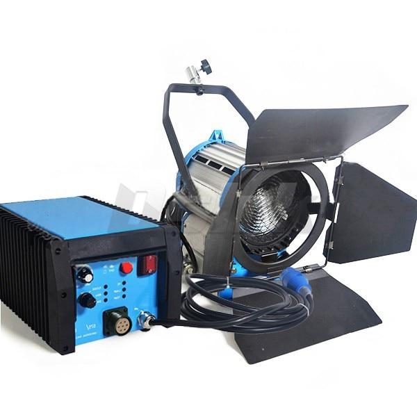 bilder für Günstige Dimmbare 1200 Watt HMI Fresnel-licht Tageslicht Evg Mit Fall Beleuchtung Film für Film Licht Sdutio Beleuchtung
