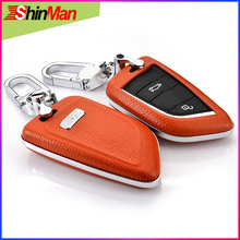 цена на ShinMan Key Car key Cover key shell For BMW Key Case For BMW X1 X5 X6 2 Series 5 Series 7Series 2014-2017 keychain Accessories