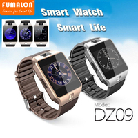 2017 New Fashion Original Smart Watch Hot Selling DZ09 Smartwatch Support SIM TF Card For IOS
