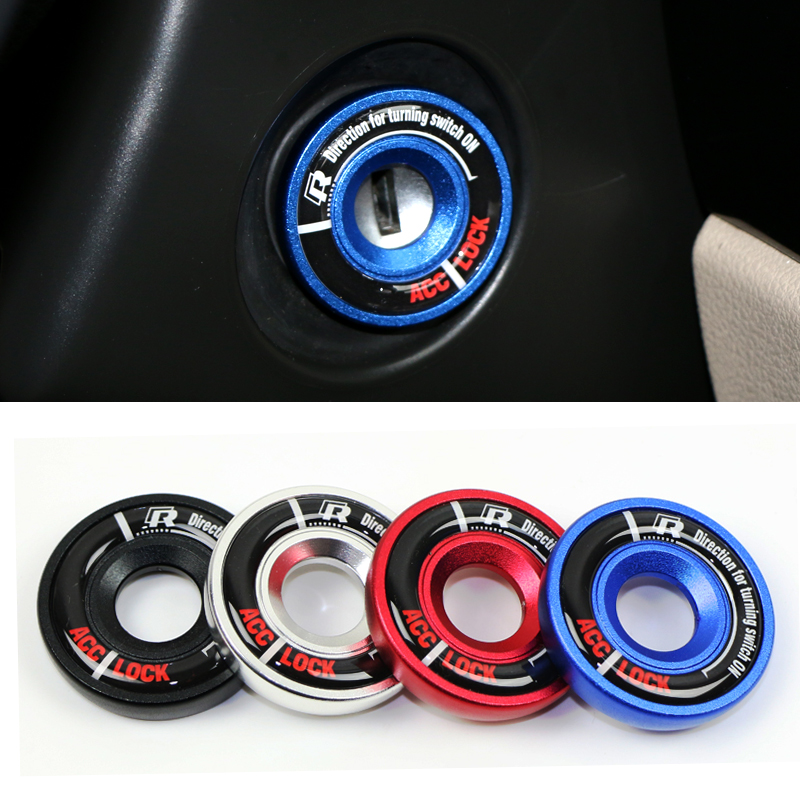 case for AUDI Volkswagen Golf 6 glof 7 Scirocc Tiguan POLO Passat B5 ignition switch decoration modified keyhole