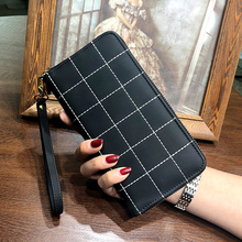 Lee Princess Luxury Long Wallet Women Wallets Female Bag With Wristlet Ladies Money Coin Purse Carteras Handy Money Bag Cuzdan