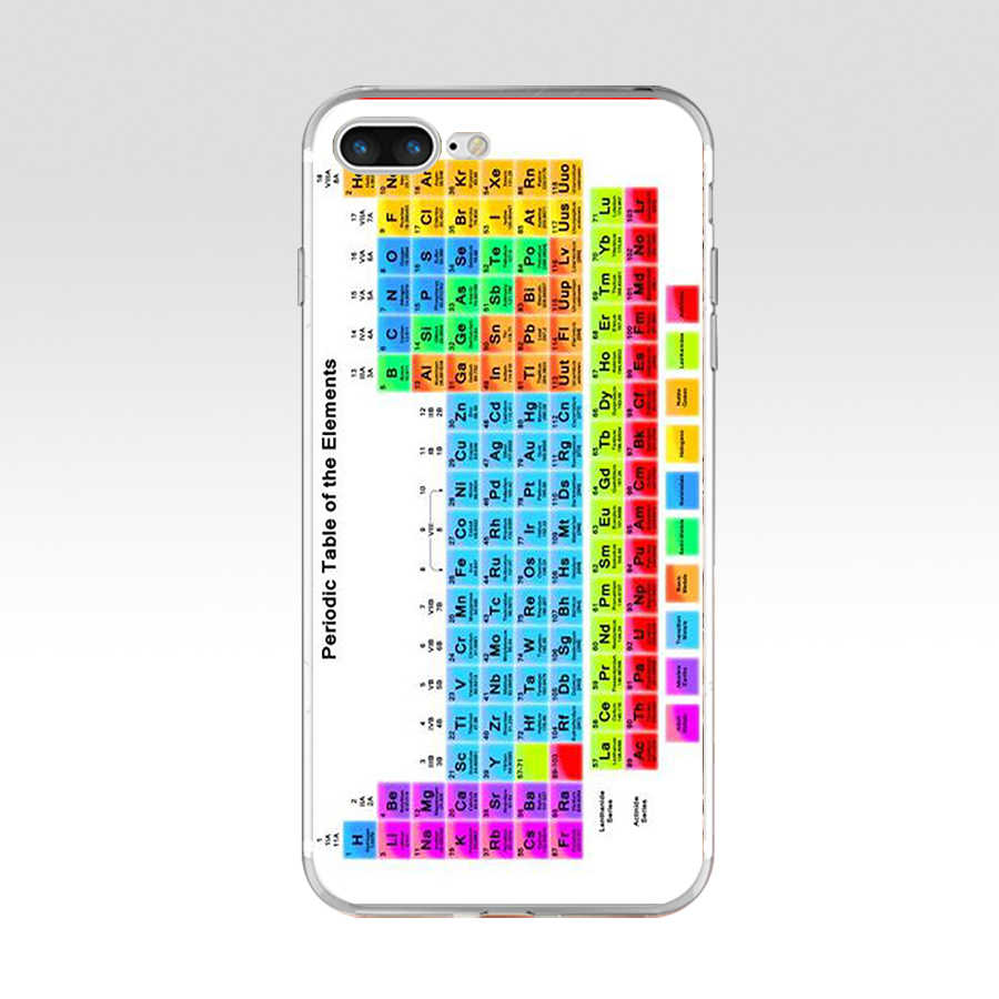 image regarding Iphone 6 Printable Case referred to as 123A printable periodic desk of factors style and design Smooth TPU Silicone Go over Circumstance For Apple apple iphone 6 6s 7 8 as well as Scenario