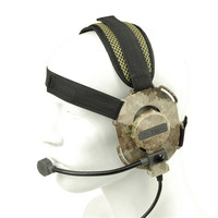 Tactical Black TAN MC DD AT Color Bowman Evo III Headset Paintball Accessory For Outdoor Hunting