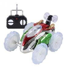 360 Tumbling Electric Controlled RC Stunt Dancing Car Flashi