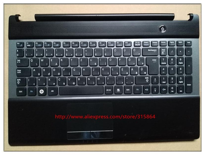 original new laptop keyboard with c case shell palmrest for SAMSUNG NP RC530 RC528 BA75-03202Q  Hungary layout new laptop keyboard for samsung np700z5a 700z5a np700z5b 700z5b np700z5c 700z5c ru russian layout
