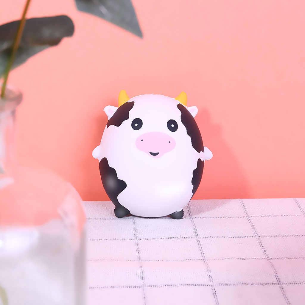 Мягкие и милые свинья панда кошка Единорог сжимающаяся медленно поднимающаяся антистрессовая игрушка Новинка игрушки Дети мягкими красивыми упаковками