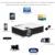Nueva Wifi Mini proyector portátil Full HD 1080 P 3D UC46 proyector de Cine En casa projetor HDMI SD de vídeo Digital proyector LED proyector