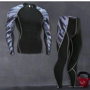 2017 mężczyzna warstwa bazowa kompresji pod Top z długim rękawem rajstopy koszulki sportowe do biegania CY1