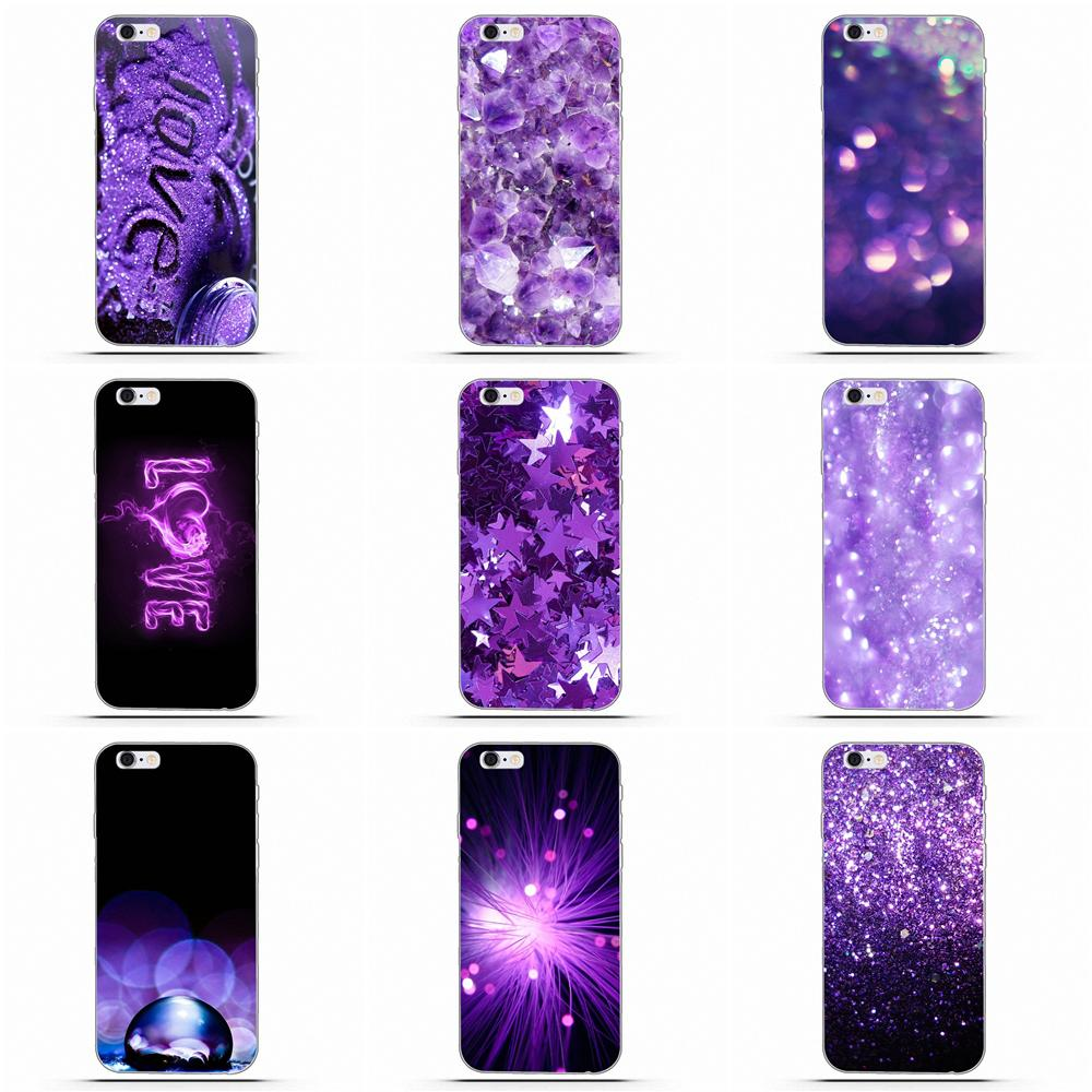 Unique Design High Quality Phone Case Love Purple Glitter Wallpaper For Samsung Galaxy A3 A5 A7 J1 J2 J3 J5 J7 2015 2016 2017 Phone Case Covers Aliexpress