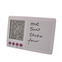 Large LCD Screen Digital Kitchen Timer Electronic Four Channel Cooking Timer Free Shipping