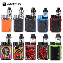 Original Vaporesso Swag Electronic Cigarette With 80W TC Box Mod Vape 3.5ml NRG Tank GT CCELL Coil Head Vaporizer(China)
