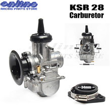NEW  KSR 28mm carburetor MODEL KSR28 CARBS evolution KIT EVO carb For HOND yamah KTM MOTORCYCLE