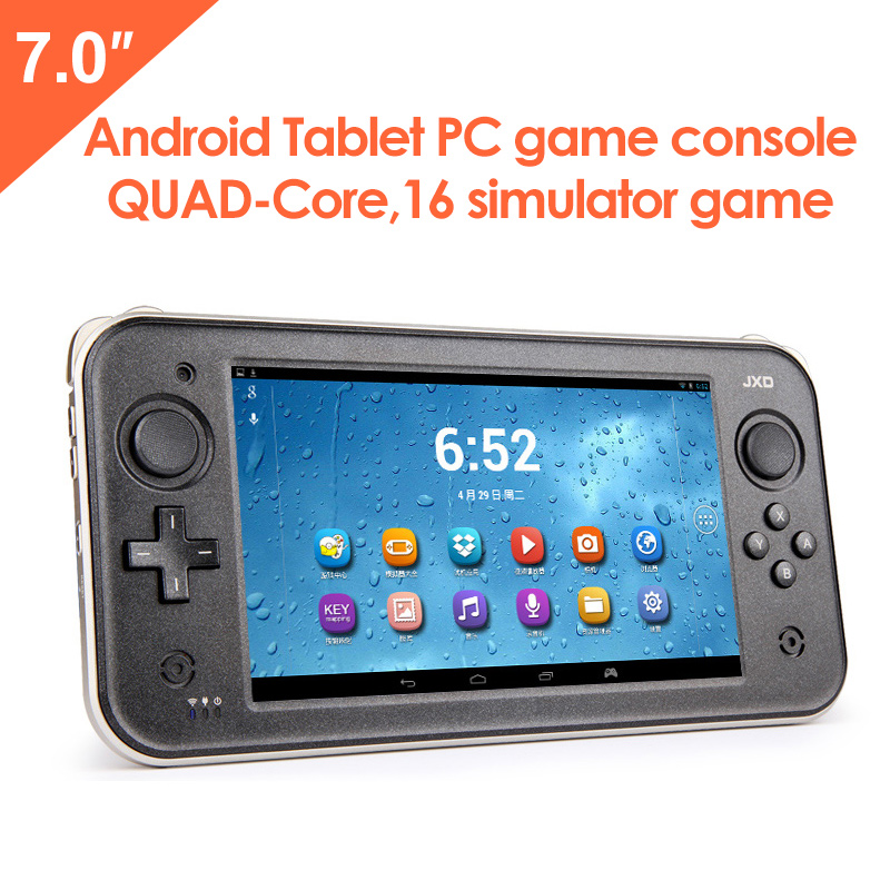 JXD S7300C - 7 Inch Quad Core Tablet Video Console Game