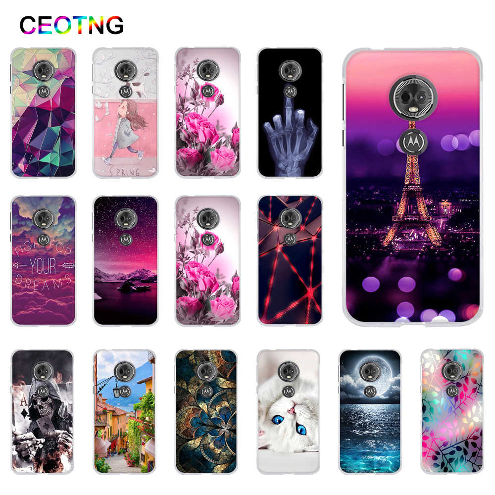 Case for Motorola MOTO G6 Play  Case Soft TPU Back Cover for Motorola Moto E5 Covers Silicone Phone Shells for MOTO G6 Play