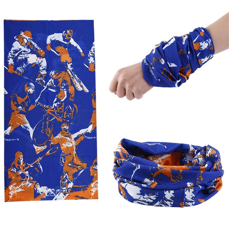 Mixed Design Bandana Scarf Summer AN-UV Unisex Hood Face Mask Tube Scarves Seamless Turban Headband Bicycle hijab kerchief <font><b>90</b></font> image
