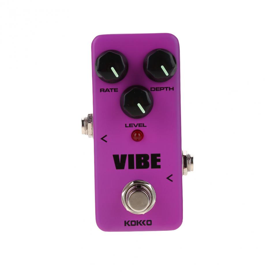 KOKKO Guitar Effect Pedal Mini VIBE Electric Guitar Effect Pedal Instrument Accessory