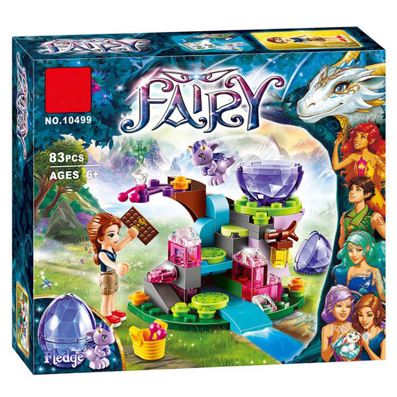 BELA 10499 83pcs Elves Fairy Emily Jones & the Baby Wind Dragon Building Blocks Set Toys Compatible Figures 41171 for Girl