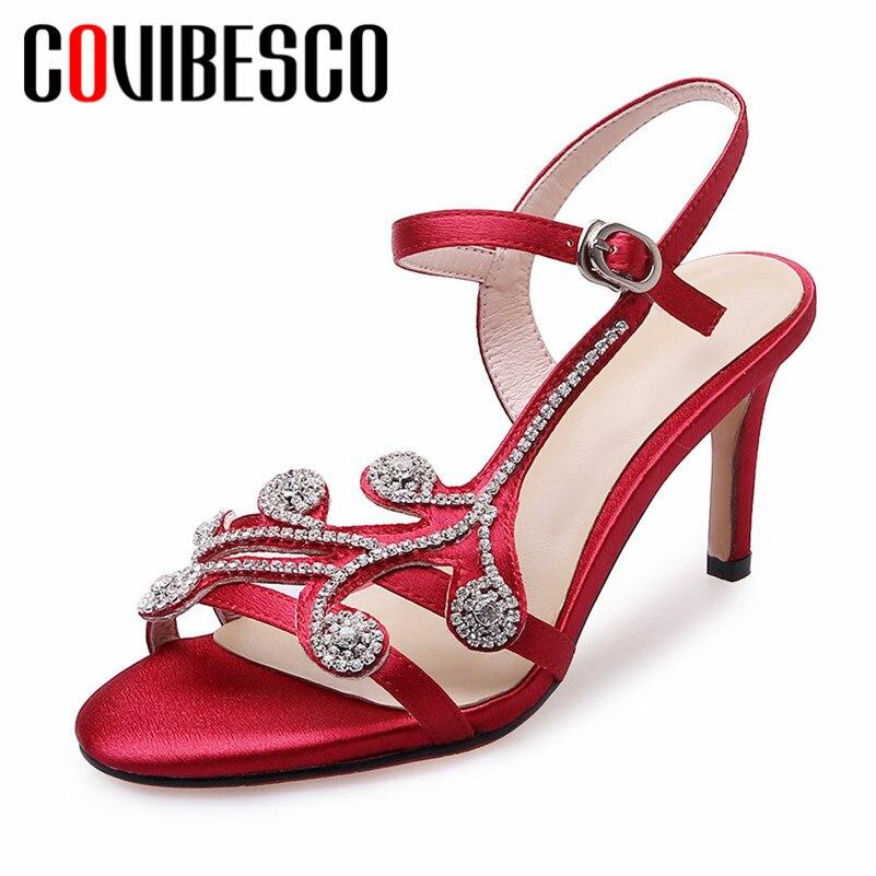 Femme Chaussures 5cm Talon Concise Bal 6 8cm Sandales Heel Covibesco w80OknP