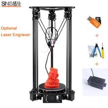 3D Printer Reprap i3 Impresora 3D DIY Kit Large Printing Size Button Screen LCD 1kg Filament 3d Printer Kit 8G SD Card As Gift недорого