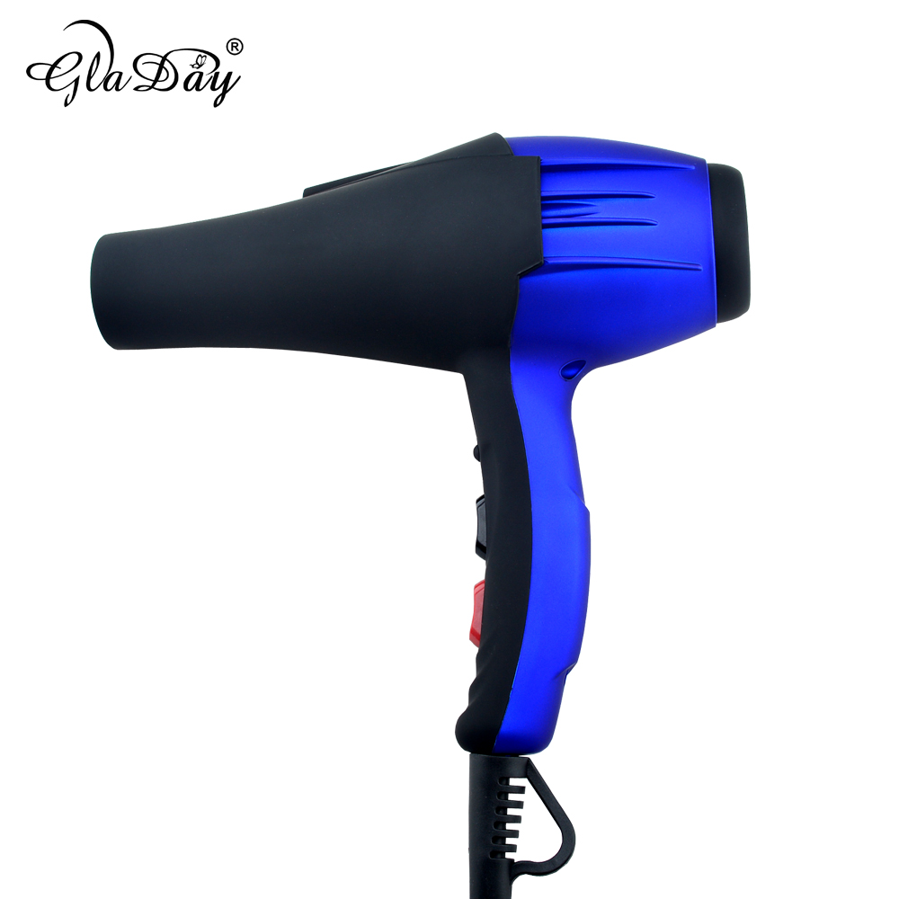 Professional Ionic Hair Dryer Blow Dryer Electric Hair Blower Hair Style Tool High Power With Blue