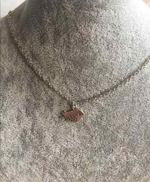 Na709 2018 Venta caliente lindo collar de moda para mujer golondrina collar de pájaro para madres mejores amigos para regalo de niña