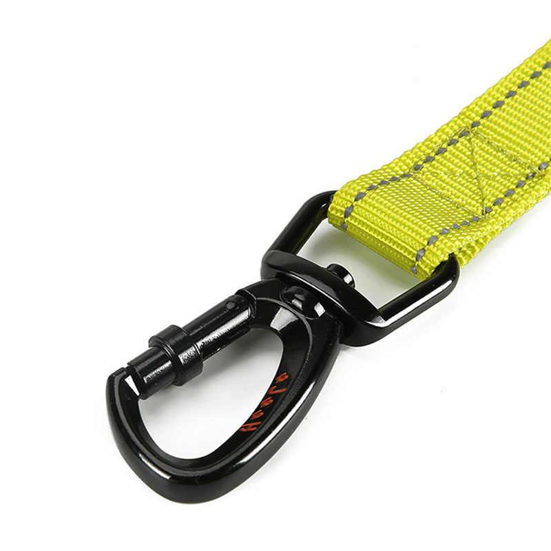 152 см эластичный поводок для собак веревка нейлоновый поводок для бега Удобная мягкая ручка светоотражающий прочный поводок для собаки высокого качества
