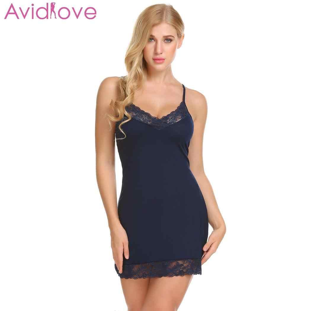 9e738386d36 Detail Feedback Questions about Avidlove Sleepwear Sexy Lingerie Hot ...