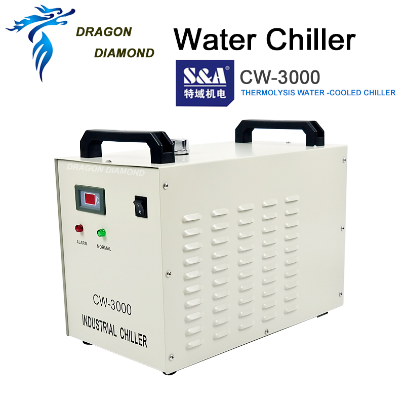 CW3000 Industria Enfriador de agua Máquina de grabado Enfriador de - Piezas para maquinas de carpinteria - foto 2