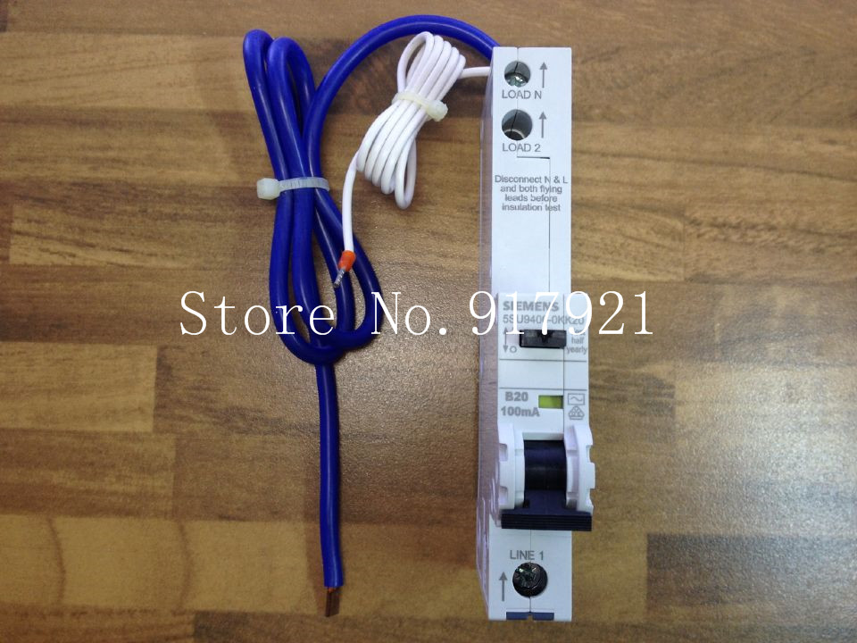ФОТО [ZOB] original original 5SU9406-0KK20 leakage protector compact leakage protection switch 10MA 1P20A  --2PCS/LOT