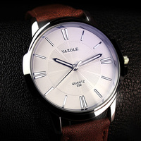 YAZOLE New 2016 Men Watch Top Brand Luxury Famous Male Clock Wrist Watch Casual Fashion Business
