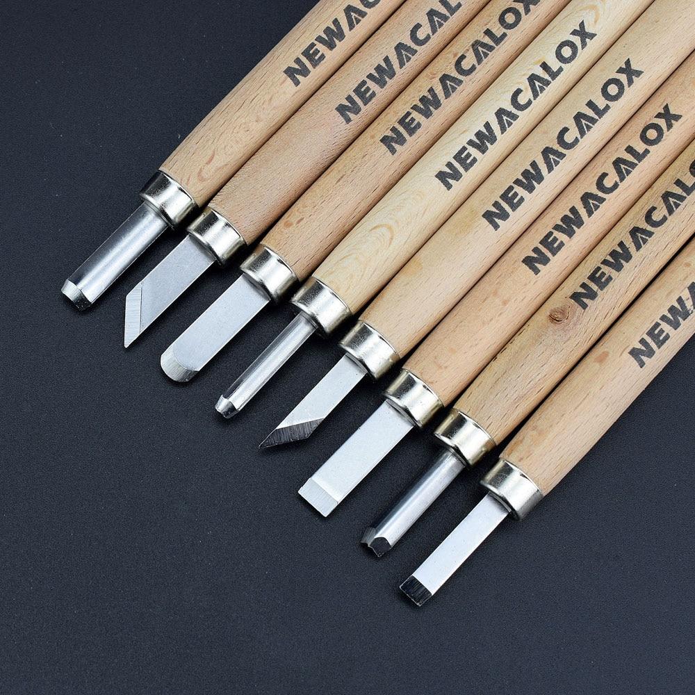 NEWACALOX 8tk puulõike nuga Scorper puulõike tööriista lõikur - Käsitööriistad - Foto 2