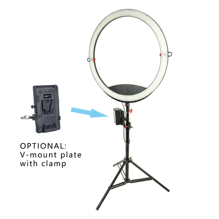 Image 5 - CAME TV Boltzen Light Cassiopeia Slim Folding RGBDT 50 Watt Ring Light LED C 50-in Photographic Lighting from Consumer Electronics