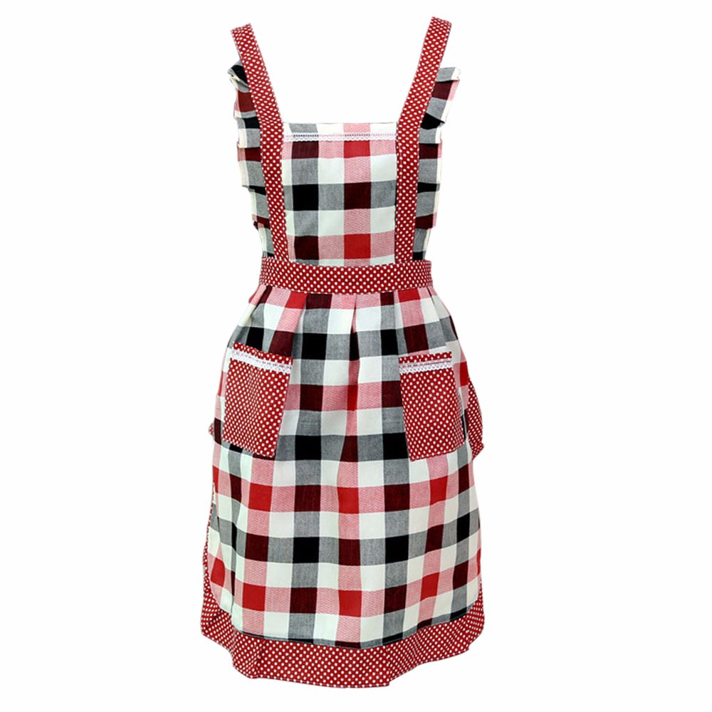 Women Restaurant or Home Kitchen Apron With Pocket