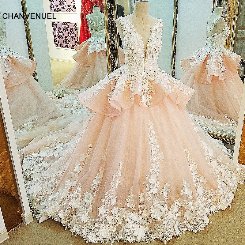 Average Cost Of Wedding Flowers 2014: LS91123 Robe De Mariage 2017 Sleeveless Ball Gown Mariage