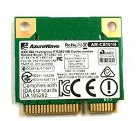 Ssea azurewave AW-CB161N 802.11AC Половина Mini pci-e Wi-Fi Bluetooth 4.0 Realtek RTL8821AE 2.4/5.0 ГГц карты 433 Мбит/с